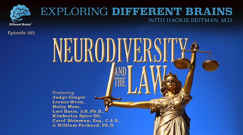 Neurodiversity & The Law, W/ Judge Ginger Lerner-Wren, Haley Moss, And More | EDB 165