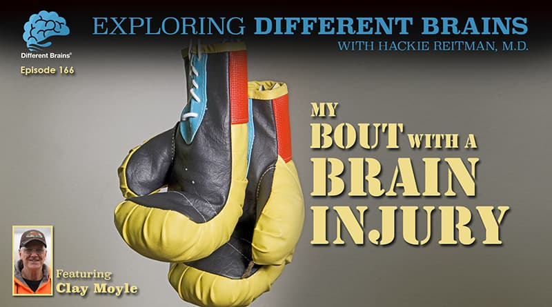 My Bout With A Brain Injury, Featuring Clay Moyle   EDB 166