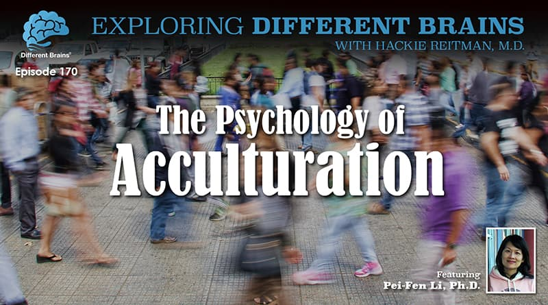 The Psychology Of Acculturation, With Pei-Fen Li, Ph.D. Of Nova Southeastern University | EDB 170