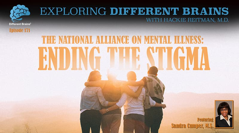 National Alliance On Mental Illness: Ending The Stigma, With Sandra Cumper, M.S. | EDB 171