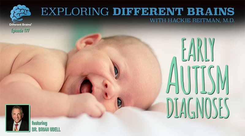 """Early Autism Diagnoses, With Brian Udell M.D. """"The Autism Doctor""""   EDB 177"""