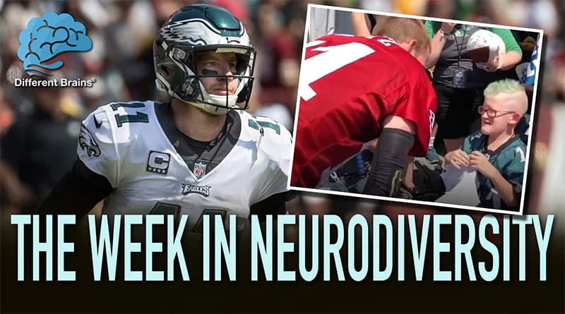 Eagles Quarterback Carson Wentz Makes The Day Of Fan With Rare Genetic Disorder
