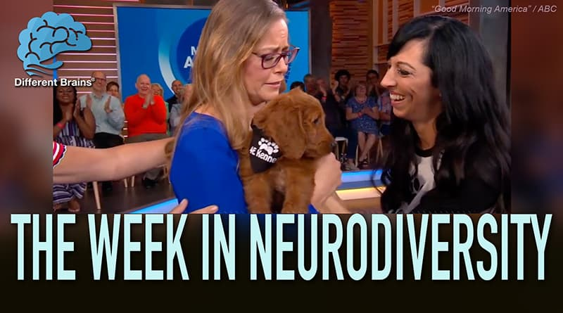 Woman With Parkinson's Surprised With A Service Dog On Good Morning America – W.I.N.