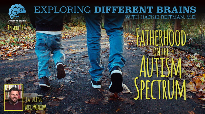Fatherhood On The Autism Spectrum, With Irish Self-Advocate Jude Morrow | EDB 182