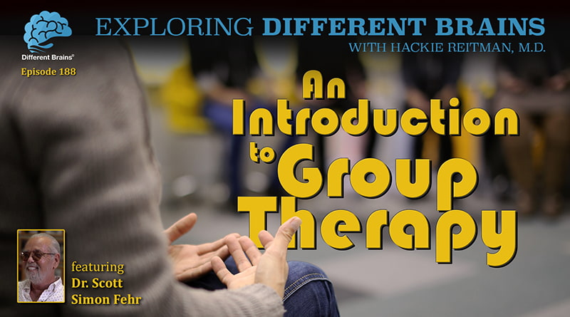 An Introduction To Group Therapy, With Dr. Scott Simon Fehr   EDB 188