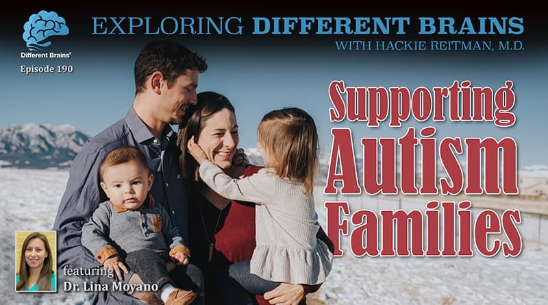 Cover Image - Supporting Autism Families, With Dr. Lina Moyano | EDB 190