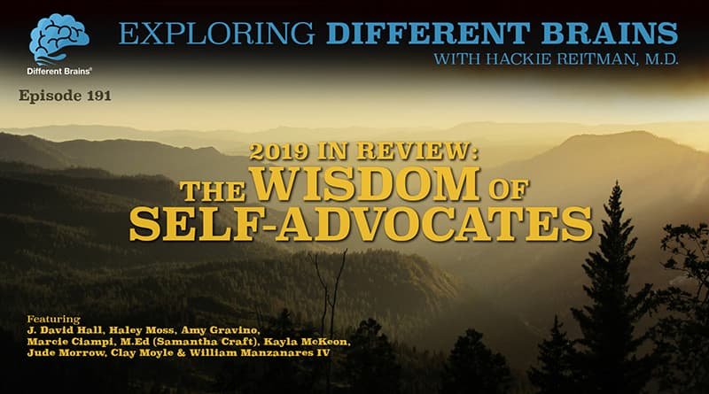 2019 In Review: The Wisdom Of Self-Advocates, W/ Marcie Ciampi, Haley Moss, Jude Morrow & More | EDB 191