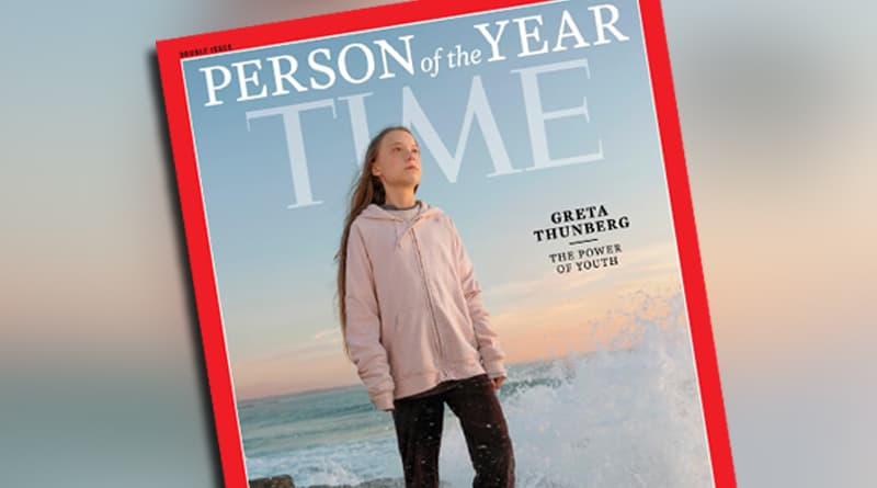 Cover Image - Greta Thunberg, 16-year-old Climate Activist With Asperger's, Named TIME Person Of The Year