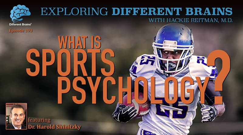 Cover Image - What Is Sports Psychology? With Dr. Harold Shinitzky
