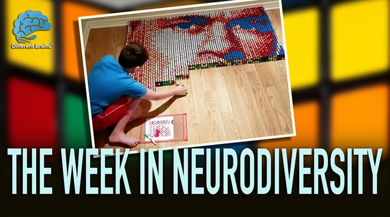 Boy With Dyslexia Has Mind-Blowing Talent For Rubik's Cubes