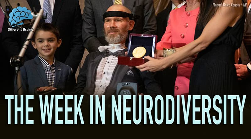 Ex-NFL Player Steve Gleason Receives Congressional Gold Medal For ALS Work
