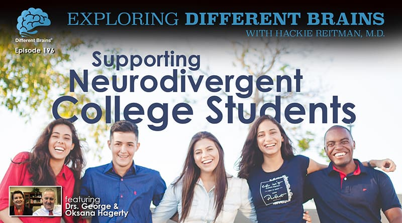 Supporting Neurodivergent College Students, With Drs. George & Oksana Hagerty Of Beacon College | EDB 196