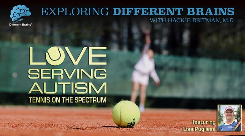 Cover Image - Love Serving Autism: Tennis On The Spectrum, With Lisa Pugliese | EDB