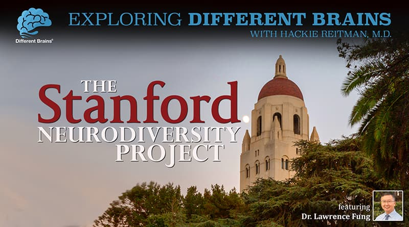 Cover Image - The Stanford Neurodiversity Project, With Dr. Lawrence Fung