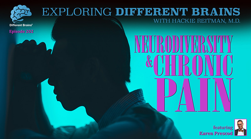 Cover Image - Neurodiversity & Chronic Pain, With Karen Prescod