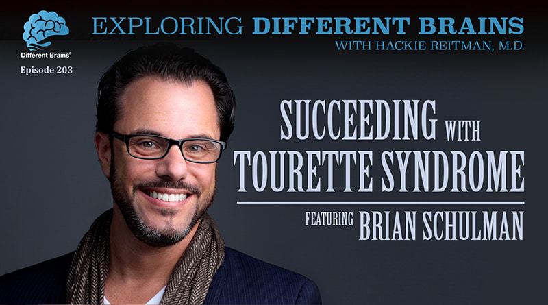 Cover Image - Succeeding With Tourette Syndrome, With Brian Schulman