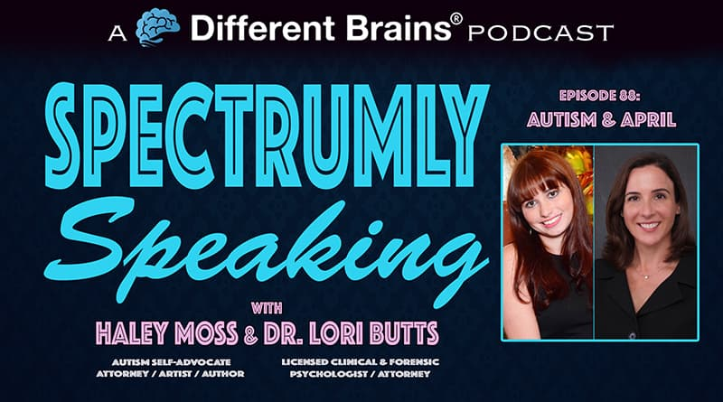 Cover Image - Autism & April | Spectrumly Speaking Ep. 88