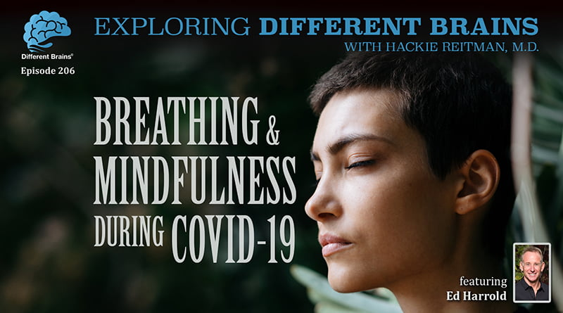 Cover Image - Breathing & Mindfulness During COVID-19, With Ed Harrold | EDB 206