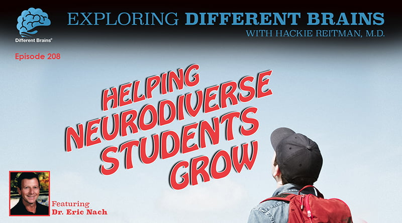 Cover Image - Helping Neurodiverse Students Grow, With Dr. Eric Nach   EDB 208
