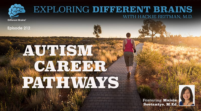 Autism Career Pathways, With Maisie Soetantyo, M.Ed. | EDB 212
