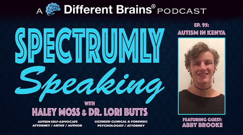 Cover Image - Autism In Kenya, With Abby Brooke   Spectrumly Speaking Ep. 95