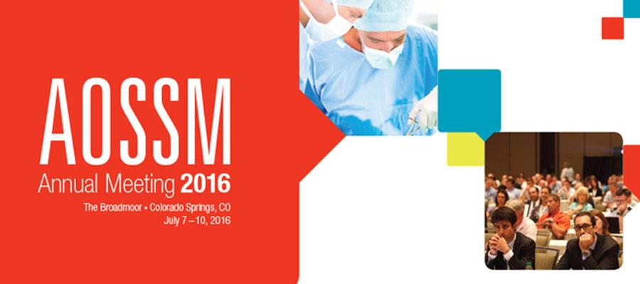 2016 AOSSM Annual Meeting