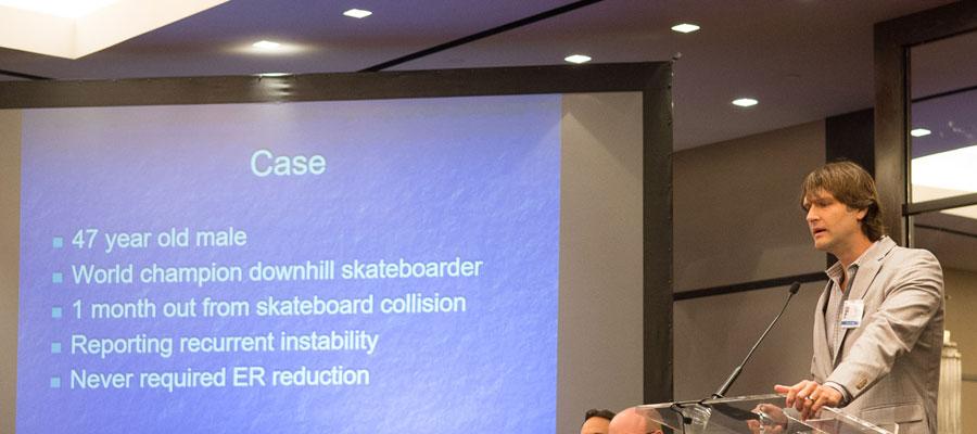 Dr. Padalecki Speaks at Texas Orthopedic Association Meeting
