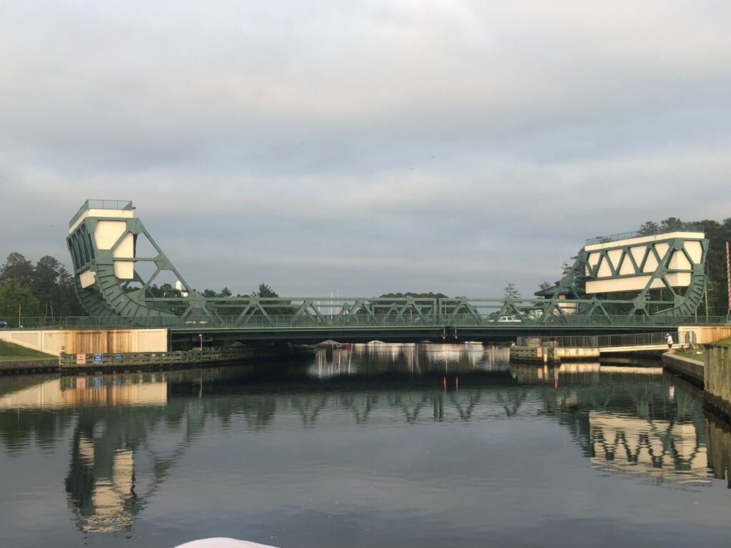 The Great Bridge in fading light
