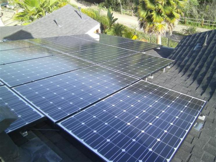 Why Go Solar - solar panels on roof top
