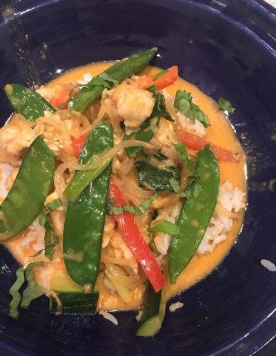 Thai Coconut Curry