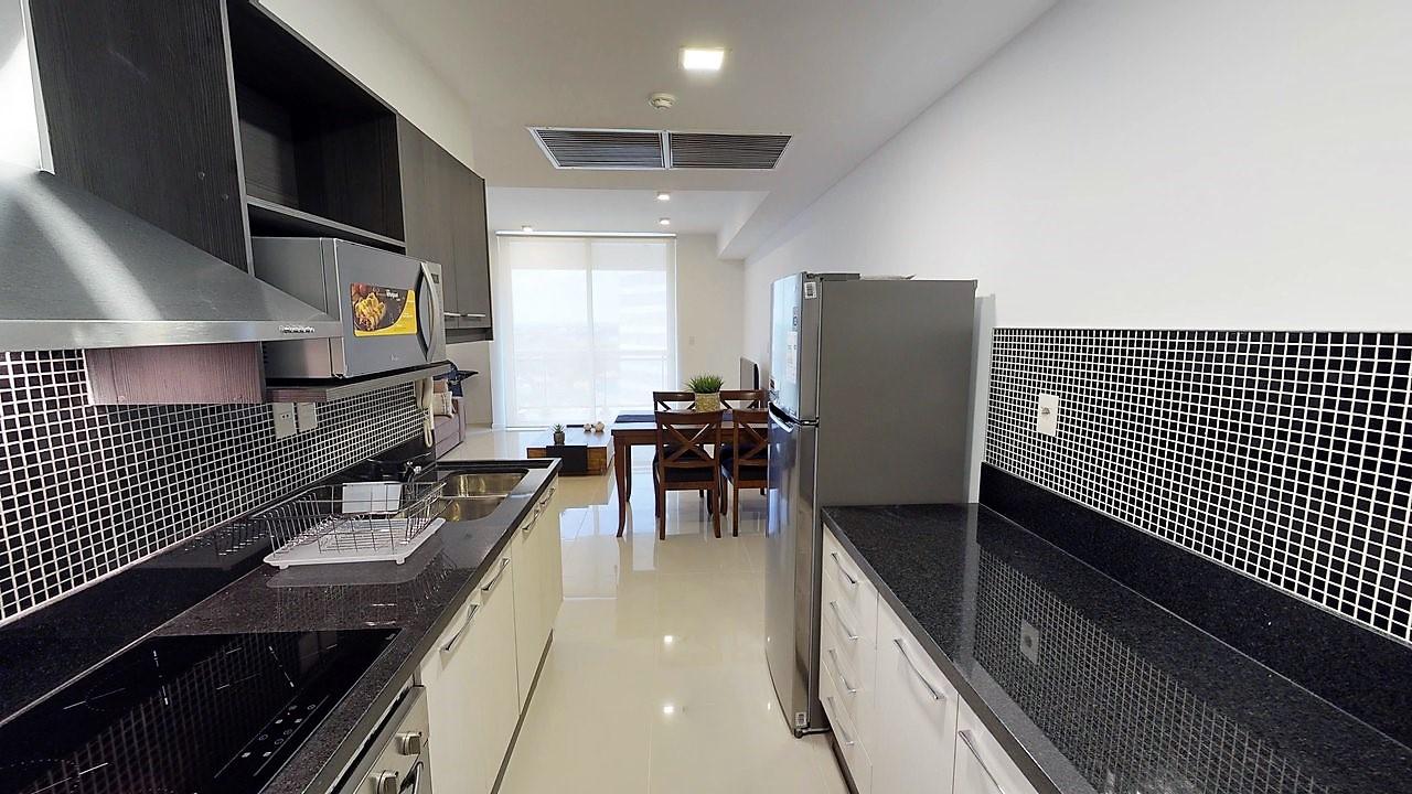 Cocina departamento sobre Santa Teresa2
