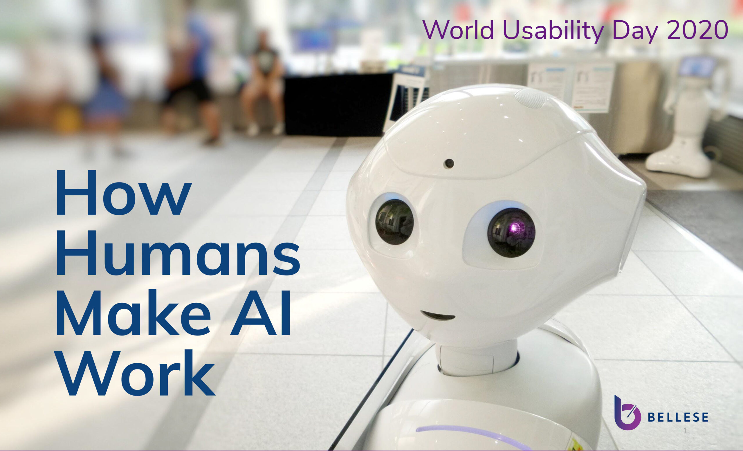 In the spring of 2020 I was honored to lead a discussion at World Usability Day on the important role AI will play in the future.