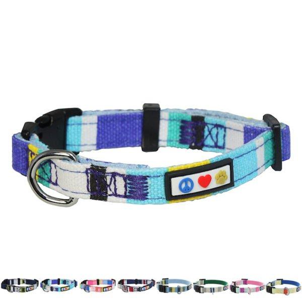 Pawtitas Multicolar Dog Collar13