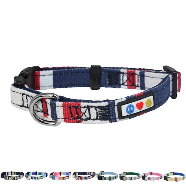 Pawtitas Multicolar Dog Collar22