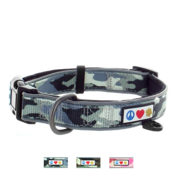 Padded Collar Dog Camoflage