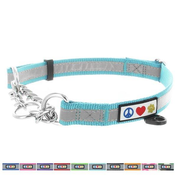 Pawtitas Reflective Chain martingale collar10