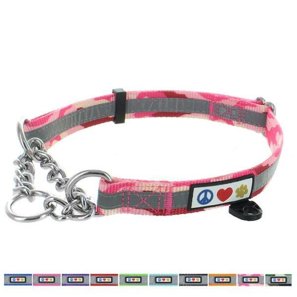 Pawtitas Reflective Chain martingale collar4