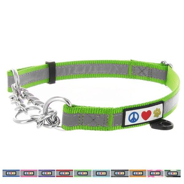 Pawtitas Reflective Chain martingale collar5