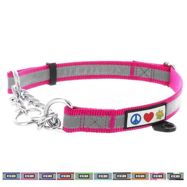 Pawtitas Reflective Chain martingale collar7
