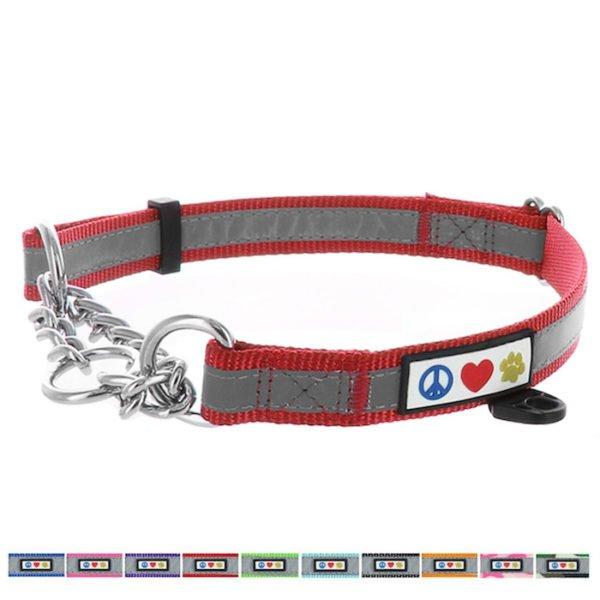 Pawtitas Reflective Chain martingale collar9