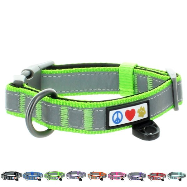 Pawtitas Reflective Padded Collar Dog24