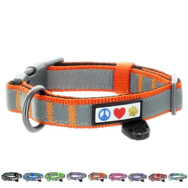 Pawtitas Reflective Padded Collar Dog25