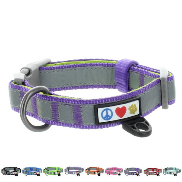 Pawtitas Reflective Padded Collar Dog27
