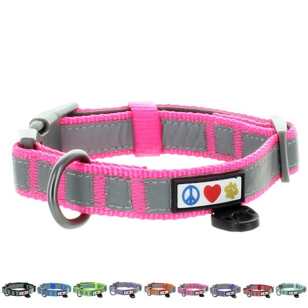 Pawtitas Reflective Padded Collar Dog30