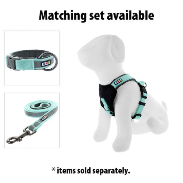 Pawtitas reflective padded dog harness31