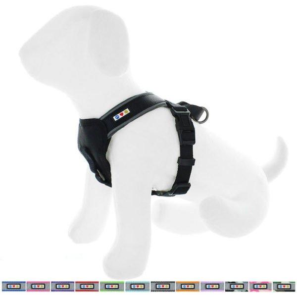 Pawtitas reflective padded dog harness57