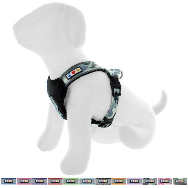 Pawtitas reflective padded dog harness60