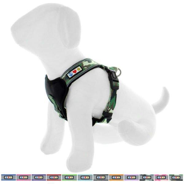 Pawtitas reflective padded dog harness66