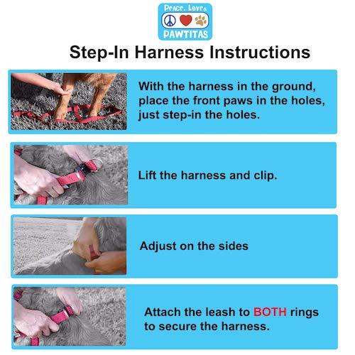 Pawtitas Harness Instructions