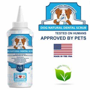 Dog natural dental Scrub